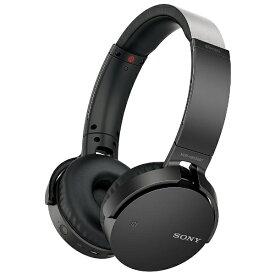 ソニー SONY ブルートゥースヘッドホン ブラック MDR-XB650BTBZ [リモコン・マイク対応 /Bluetooth][MDRXB650BTBZ]