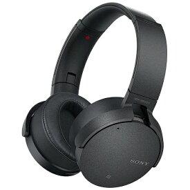ソニー SONY ブルートゥースヘッドホン ブラック MDR-XB950N1 [リモコン・マイク対応 /Bluetooth /ノイズキャンセリング対応][MDRXB950N1BM]