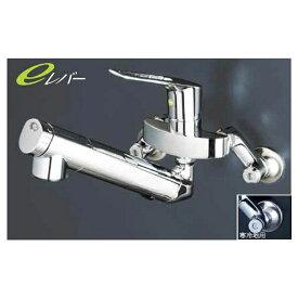 KVK 浄水器内蔵シングルレバー式混合栓 (eレバー) 「KM5001NECシリーズ」 寒冷地用 KM5001ZNEC