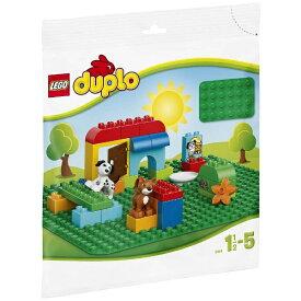 レゴジャパン LEGO 2304 デュプロ 基礎板 緑