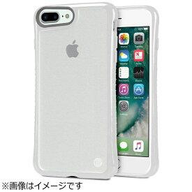 TUNEWEAR iPhone 7 Plus用 Hybrid Shell 衝撃吸収クリアケース グレイ TUN-PH-000526