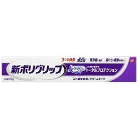 新ポリグリップ 入れ歯安定剤 トータルプロテクション 75gアース製薬 Earth