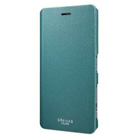 坂本ラヂヲ Xperia X Performance用 手帳型ケース GRAMAS COLORS EURO Passione Leather Case グリーン CLC216GR