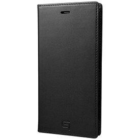 坂本ラヂヲ Xperia X Compact用 手帳型ケース GRAMAS Full Leather Case ブラック GLC6126BK