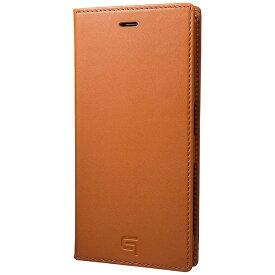 坂本ラヂヲ Xperia X Compact用 手帳型ケース GRAMAS Full Leather Case タン GLC6126TA