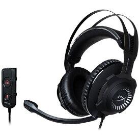 キングストン Kingston HX-HSCRS-GM/AS ヘッドセット ガンメタル/ブラック [φ3.5mmミニプラグ+USB /両耳 /ヘッドバンドタイプ][HXHSCRSGMAS]