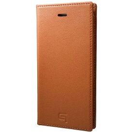 坂本ラヂヲ iPhone 7用 手帳型レザーケース GRAMAS Full Leather Case タン GLC626TA