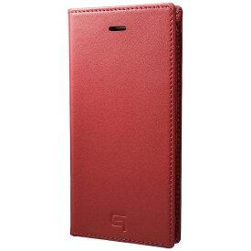 坂本ラヂヲ iPhone 7用 手帳型レザーケース GRAMAS Full Leather Case レッド GLC626RD