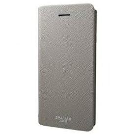 坂本ラヂヲ iPhone 7 Plus用 手帳型レザーケース GRAMAS COLORS EURO Passione Leather Case グレー CLC276PGY