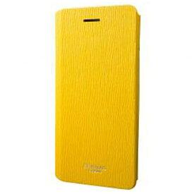 坂本ラヂヲ iPhone 7用 手帳型レザーケース GRAMAS FEMME Colo Flap Leather Case イエロー FLC246YL