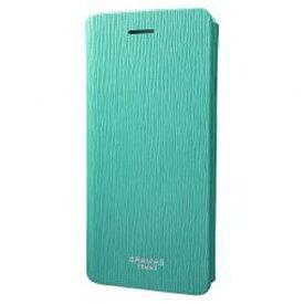 坂本ラヂヲ iPhone 7用 手帳型レザーケース GRAMAS FEMME Colo Flap Leather Case ターコイズ FLC246TQ