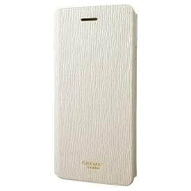 坂本ラヂヲ iPhone 7 Plus用 手帳型レザーケース GRAMAS FEMME Colo Flap Leather Case ホワイト FLC256PWH