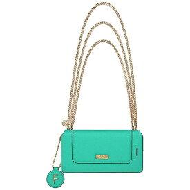 坂本ラヂヲ iPhone 7用 手帳型レザーケース GRAMAS FEMME Sac Bag Type Leather Case ターコイズ FLC286TQ