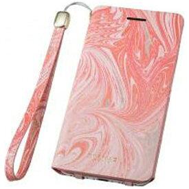 坂本ラヂヲ iPhone 7用 手帳型レザーケース GRAMAS FEMME Mab Flap Leather Case ピンク FLC2106PK