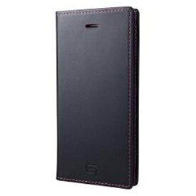 坂本ラヂヲ iPhone 7用 手帳型レザーケース GRAMAS Full Leather Case Limited ネイビー×ピンク GLC626LNVPK