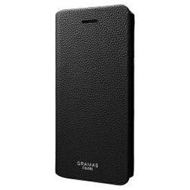坂本ラヂヲ iPhone 7用 手帳型レザーケース GRAMAS COLORS EURO Passione 2 Leather Case ブラック CLC2156BK