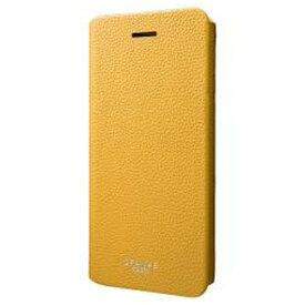 坂本ラヂヲ iPhone 7用 手帳型レザーケース GRAMAS COLORS EURO Passione 2 Leather Case イエロー CLC2156YL