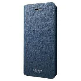 坂本ラヂヲ iPhone 7 Plus用 手帳型レザーケース GRAMAS COLORS EURO Passione 2 Leather Case ネイビー CLC2166PNV
