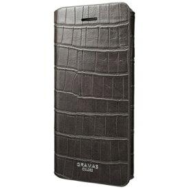 坂本ラヂヲ iPhone 7 Plus用 手帳型レザーケース GRAMAS COLORS EURO Passione3 Leather Case グレー CLC2186PGY