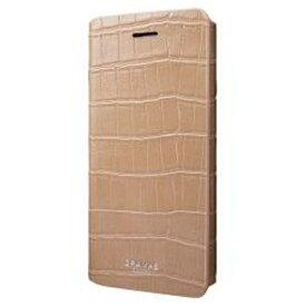 坂本ラヂヲ iPhone 7 Plus用 手帳型レザーケース GRAMAS COLORS EURO Passione3 Leather Case ベージュ CLC2186PBE