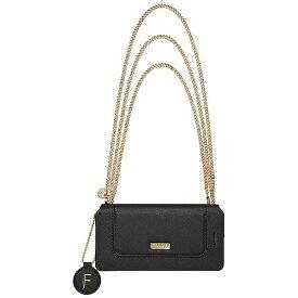 坂本ラヂヲ iPhone 7用 手帳型レザーケース GRAMAS FEMME Sac Bag Type Leather Case ブラック FLC286BK