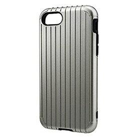 坂本ラヂヲ iPhone 7用 GRAMAS COLORS Rib Hybrid case グレー CHC436GY