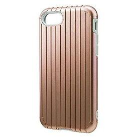 坂本ラヂヲ iPhone 7用 GRAMAS COLORS Rib Hybrid case ローズゴールド CHC436RG