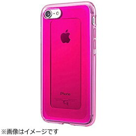 坂本ラヂヲ iPhone 7用 GRAMAS COLORS GEMS Hybrid Case ルビー ピンク CHC466PK
