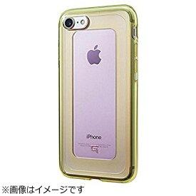 坂本ラヂヲ iPhone 7用 GRAMAS COLORS GEMS Hybrid Case ローズクォーツ ライトピンク×ライムグリーン CHC466LP