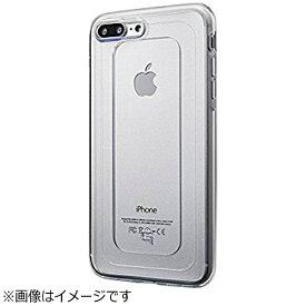坂本ラヂヲ iPhone 7 Plus用 GRAMAS COLORS GEMS Hybrid Case クリスタル クリア CHC476PCL
