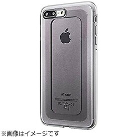 坂本ラヂヲ iPhone 7 Plus用 GRAMAS COLORS GEMS Hybrid Case オニキス ブラック CHC476PBK