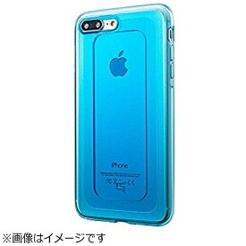 坂本ラヂヲ iPhone 7 Plus用 GRAMAS COLORS GEMS Hybrid Case ターコイズ ブルー CHC476PBL