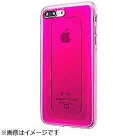 坂本ラヂヲ iPhone 7 Plus用 GRAMAS COLORS GEMS Hybrid Case ルビー ピンク CHC476PPK