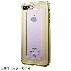坂本ラヂヲ iPhone 7 Plus用 GRAMAS COLORS GEMS Hybrid Case ローズクォーツ ライトピンク×ライムグリーン CHC476PLP