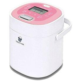 クマザキエイム KUMAZAKI AIM MC-106 炊飯器 Bearmax(ベアーマックス) ホワイト×ピンク [2.5合][MC106] [一人暮らし おしゃれ 新生活 家電]