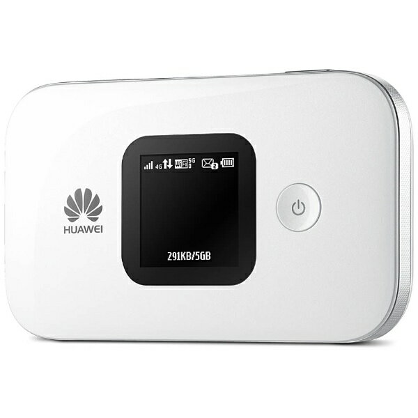 HUAWEI ファーウェイ 【SIMフリー】HUAWEI E5577 ホワイト [E5577S-324] LTE/Wi-Fi[無線a/b/g/n(2.4G/5GHz)]標準SIMx1 SIMフリーモバイルルーター[E5577S324]