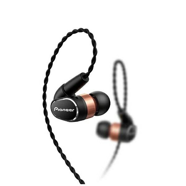 【送料無料】 パイオニア 【ハイレゾ音源対応】耳かけカナル型イヤホン MMCXリケーブル対応 SE-CH9T-K