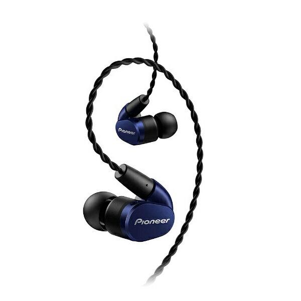 パイオニア 【ハイレゾ音源対応】耳かけカナル型イヤホン(ブルー) SE-CH5T-L
