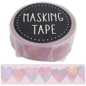 ワールドクラフト world craft マスキングテープ スイサイハート W01-GMT-0001[W01GMT0001]