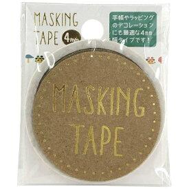ワールドクラフト world craft マスキングテープ 4mm キノコ W01-MT4-0015[W01MT40015]