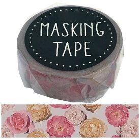 ワールドクラフト world craft マスキングテープ シックフラワー W01-GMT-0013[W01GMT0013]