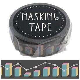 ワールドクラフト world craft マスキングテープ グラフチェック W01-GMT-0015[W01GMT0015]