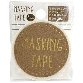 ワールドクラフト world craft マスキングテープ 4mm White W01-MT4-0001[W01MT40001]