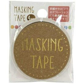 ワールドクラフト world craft マスキングテープ 4mm カラフルドット W01-MT4-0013[W01MT40013]