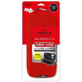 ナカバヤシ Nakabayashi ニンテンドーSWITCH専用 耐衝撃/大容量 EVA プロテクトケース レッド SZC-SWI01R [Switch]