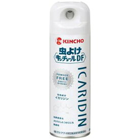 虫よけキンチョールDFパウダーフリー 無香料 200ml大日本除虫菊 KINCHO