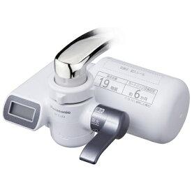 パナソニック Panasonic TK-CJ23 蛇口直結型浄水器 メタリックグレー[TKCJ23H]