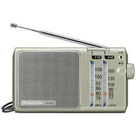 パナソニック Panasonic RF-U155 ホームラジオ シルバー [AM/FM /ワイドFM対応][RFU155S] panasonic