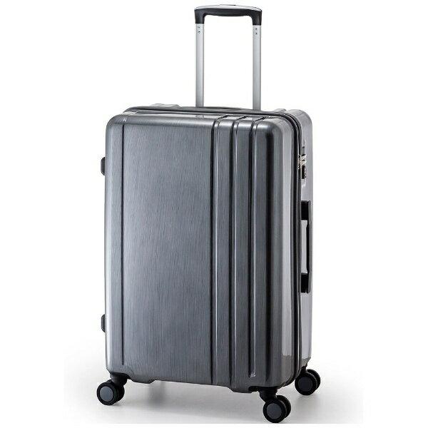 【送料無料】 A.L.I TSAロック搭載スーツケース RUNWAY(60L) BC1002 ガンメタブラッシュ【ビックカメラグループオリジナル】【point10】