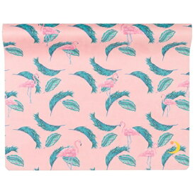 ヨガワークス ヨガマット トロピカ(ピンク フラミンゴ ピンク/173cm×61cm×1.5mm)YW-A108-C071